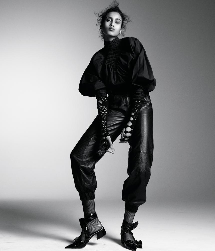 Fendi блуза, брюки. Kenzo топ