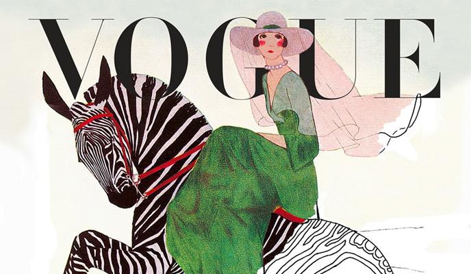 Vogue первая в мире Fashion книжка раскраска In The